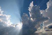 Небо над поселком